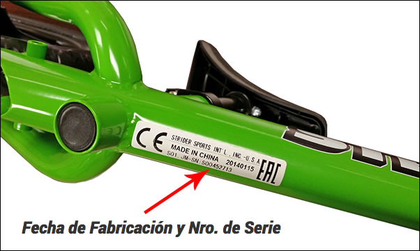 Cómo obtener el número de serie de su bicicleta