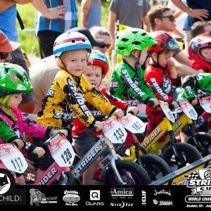 Los ciclistas más pequeños del mundo se reunieron en Boulder, Colorado, para la copa Strider.