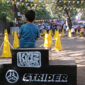Strider Bikes invitó a andar en bici a los más  pequeñitos de Kidzapalooza 2018
