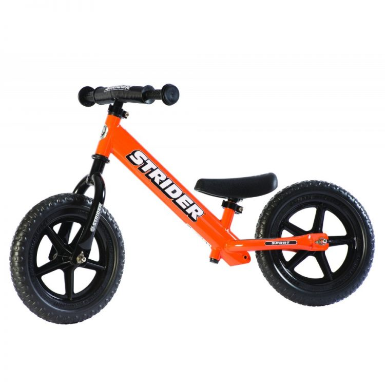Strider® 12' Sport Naranja – Bicicleta Balance Sin Pedal