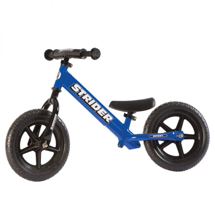 Strider® 12' Sport Azul – Bicicleta Balance Sin Pedal