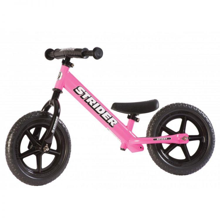 Strider® 12' Sport Rosada – Bicicleta Sin Pedal