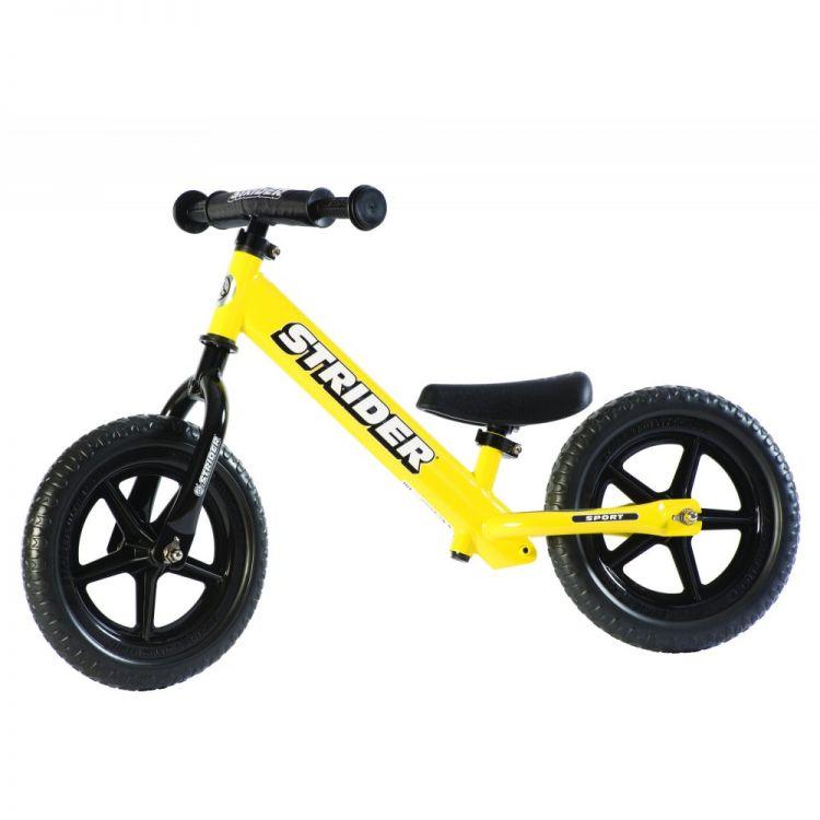 Strider® 12' Sport Amarilla – Bicicleta Balance Sin Pedal