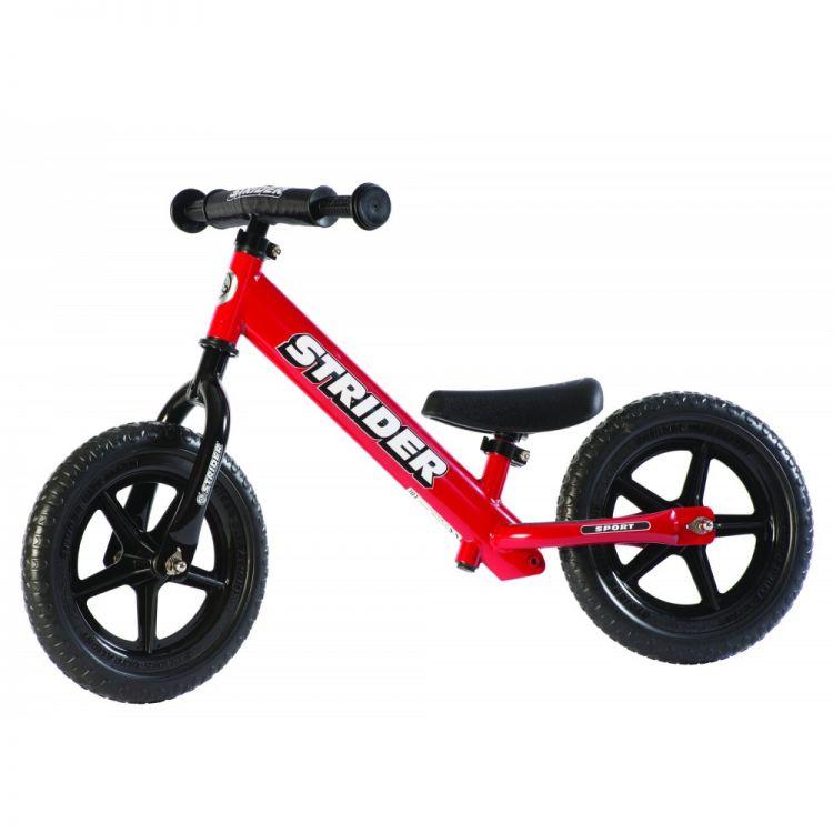 Strider® 12' Sport Roja – Bicicleta Balance Sin Pedal