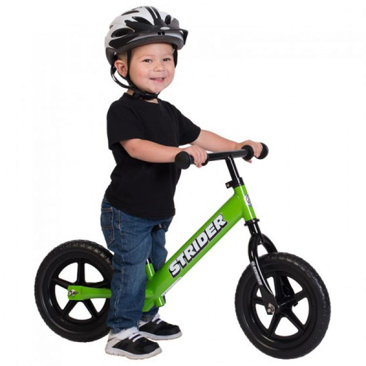 Strider® 12' Classic Verde – Bicicleta Balance Sin Pedal