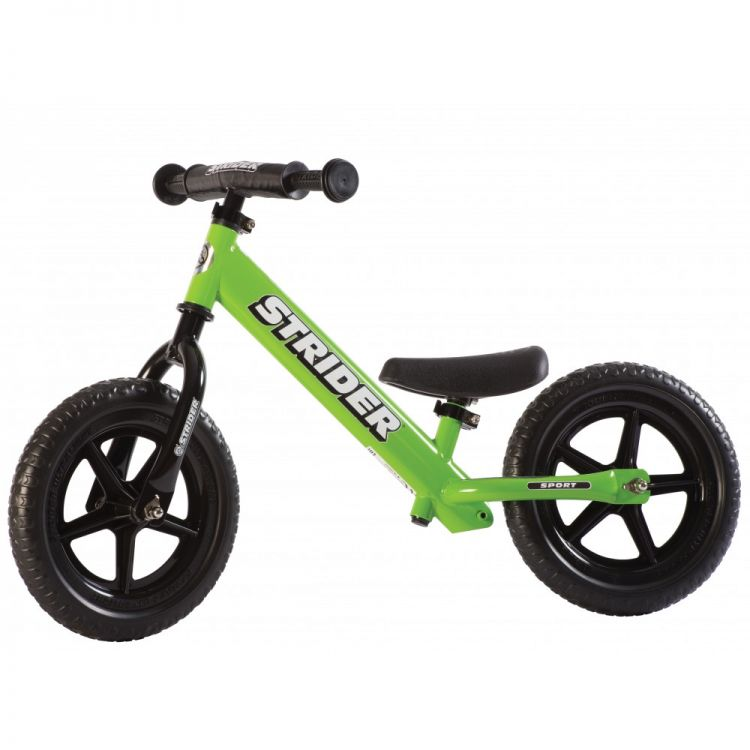 Strider® 12' Sport Verde – Bicicleta Balance Sin Pedal