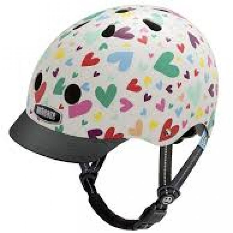 Little Nutty® Casco Happy Hearts XS 48-52cm.