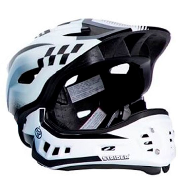 Strider ST-R  Casco Integral  S Fullface Desmontable Blanco