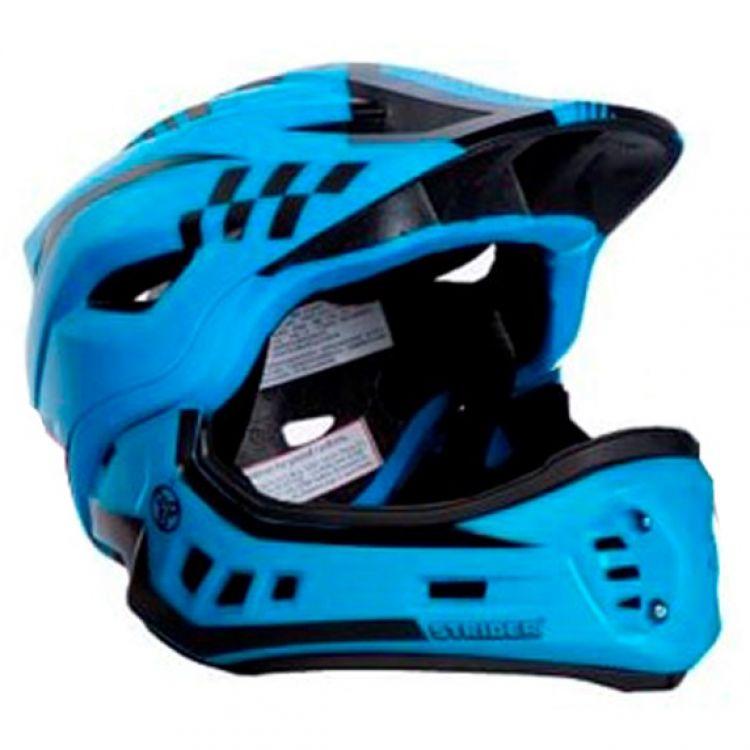 Strider ST-R  Casco Integral  S Fullface Desmontable Azul