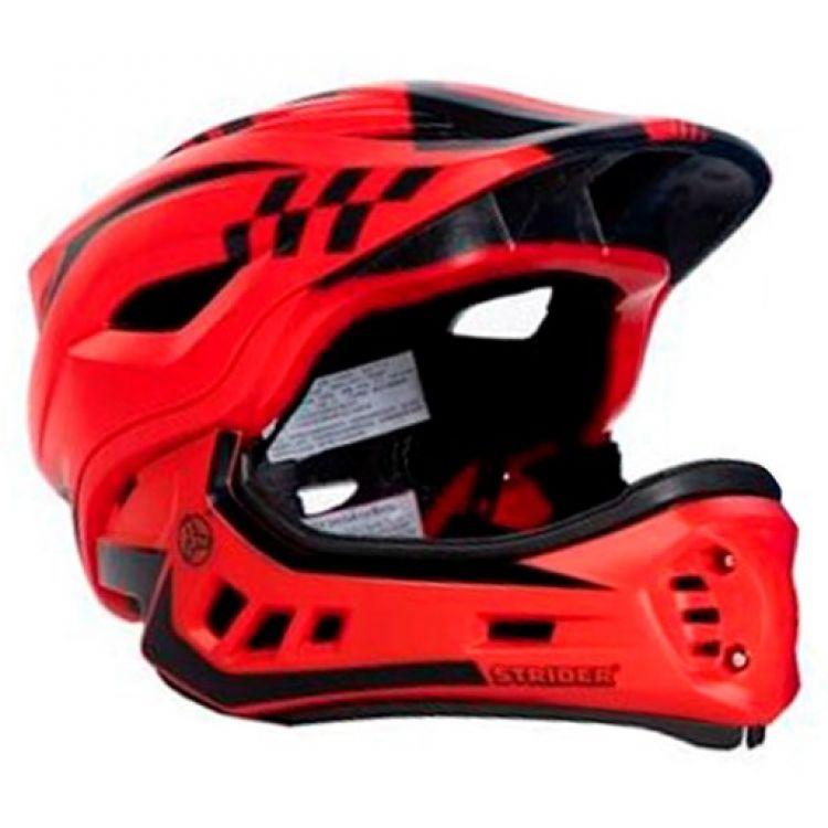 Strider ST-R  Casco Integral  S Fullface Desmontable Rojo