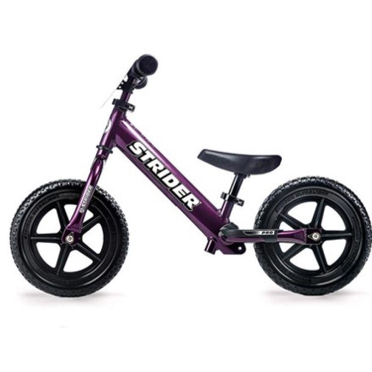Strider 12X Pro Metallic Purple – Bicicleta Balance Sin Pedal