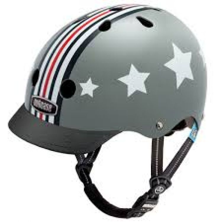 Little Nutty® Casco Silver Fly XS 48-52cm.