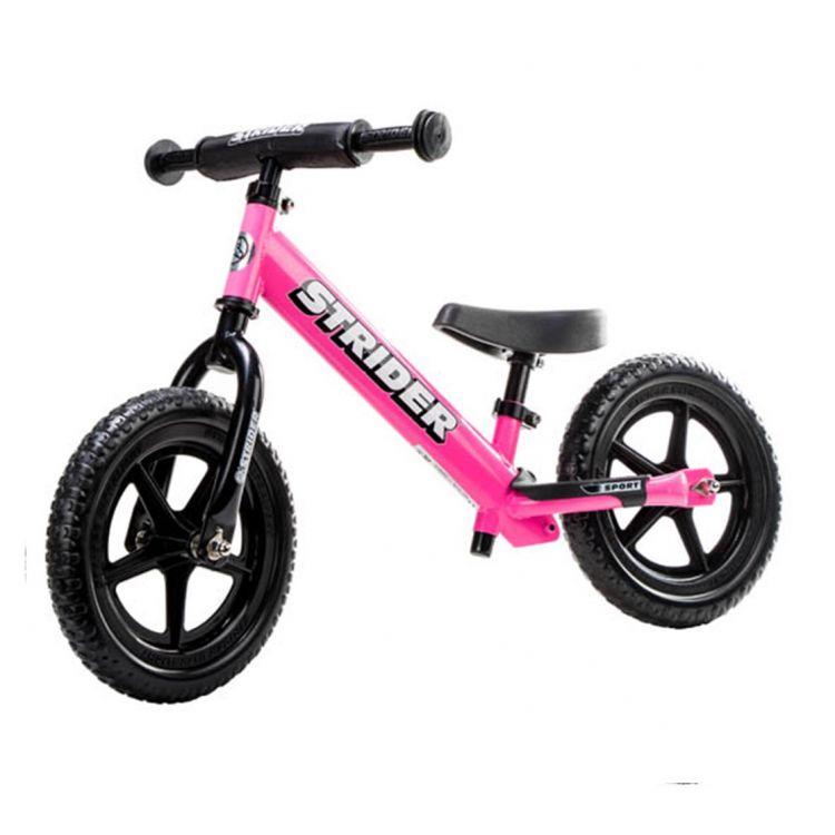 Strider 12 Sport Rosada – Bicicleta Balance Sin Pedal