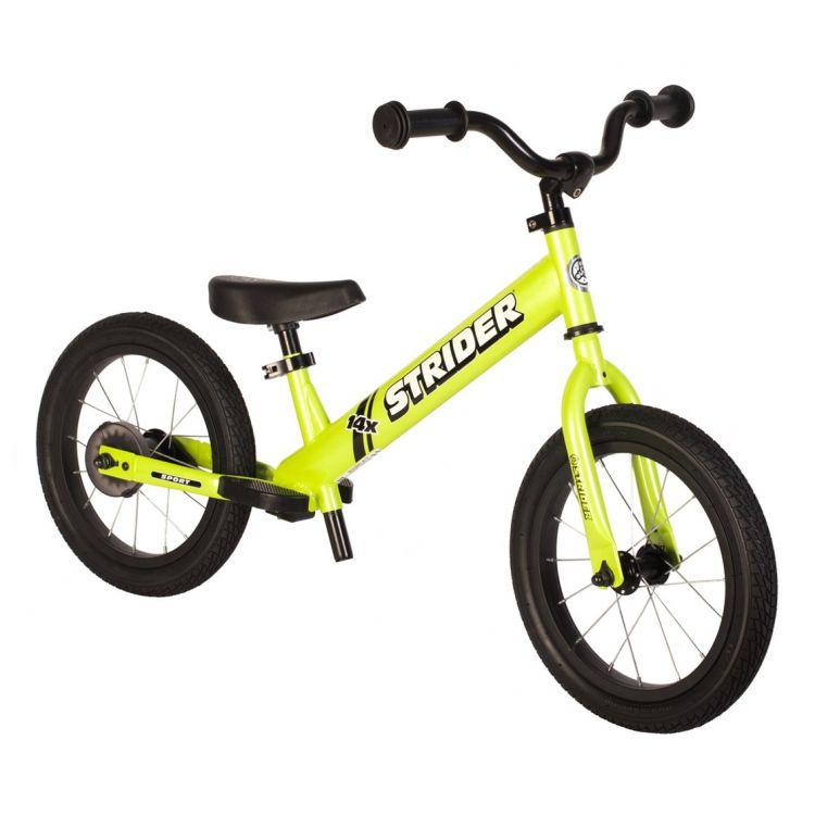 Strider® 14X Sport Bicicleta de Balance Verde