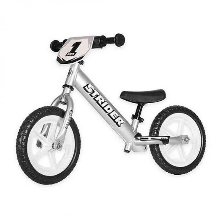 Strider 12X Pro Silver – Bicicleta Balance Sin Pedal