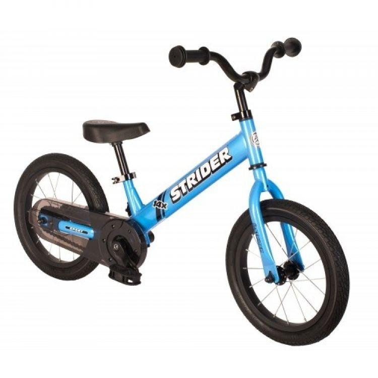 Strider® 14X Azul Balance más Kit de Pedales y Cadena