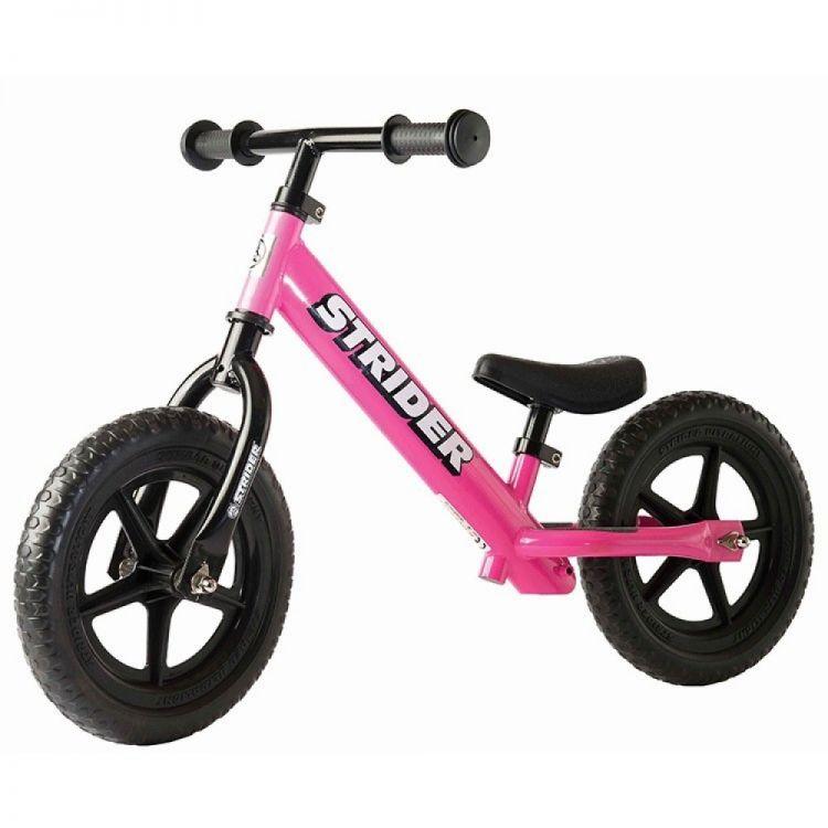 Strider® 12´ Classic Rosada – Bicicleta Balance Sin Pedal