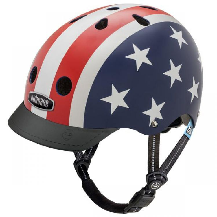 Little Nutty® Casco Star & Stripes XS 48-52cm.