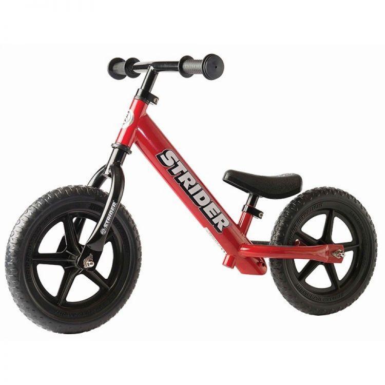 Strider® 12' Classic Roja – Bicicleta Balance Sin Pedal