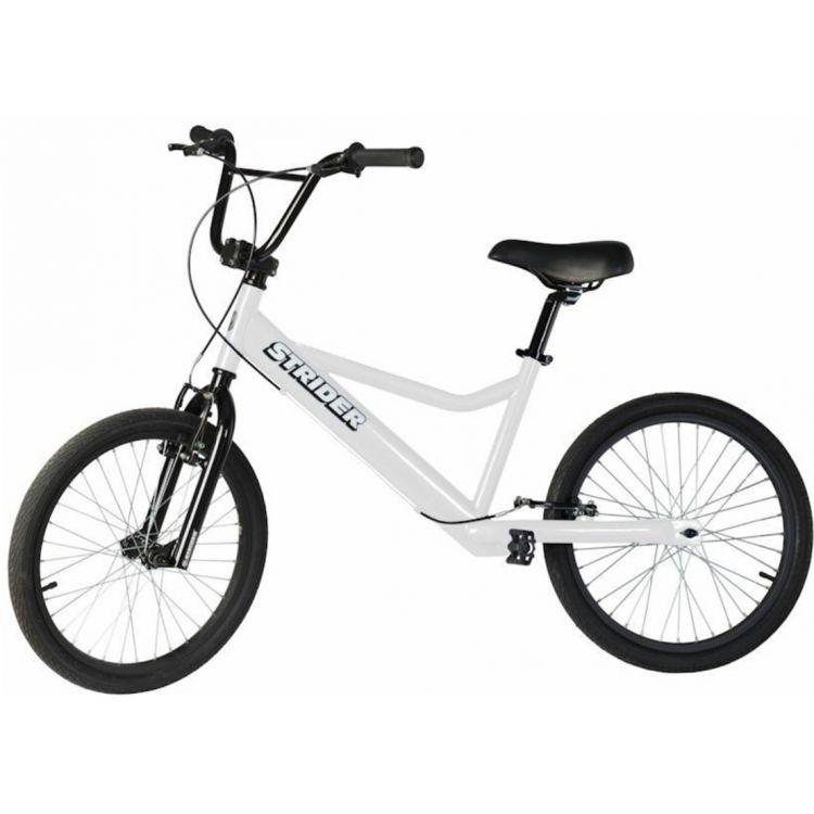 Strider 20 Sport Bicicleta Blanca 11+