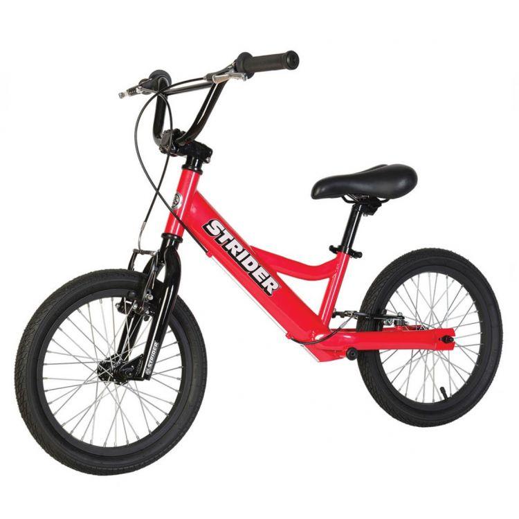 Strider 16 Sport Bicicleta Roja 6 -10 Años