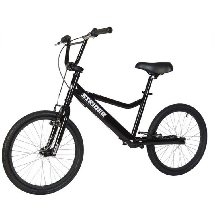 Strider 20 Sport Bicicleta Negra 11+