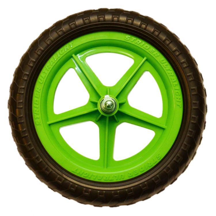 Strider® Rueda Ultraliviana Verde Strider Sport 12´